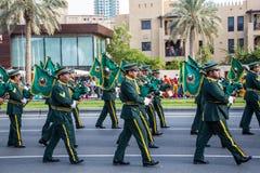 Ståtar den nationella dagen för UAE Arkivbild