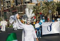 Ståtar den nationella dagen för UAE Arkivbilder