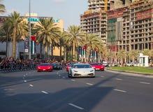 Ståtar den nationella dagen för UAE Arkivfoto