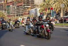Ståtar den nationella dagen för UAE Royaltyfria Bilder