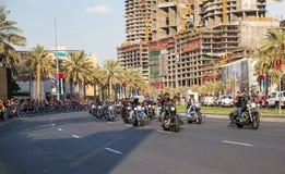 Ståtar den nationella dagen för UAE Arkivfoton