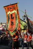ståtar den nya angeles kinesen 2009 los år Arkivfoto