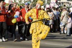 ståtar den nya angeles kinesen 2009 los år Royaltyfri Foto