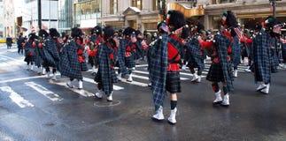 ståtar störst nya för stadsdag den patrick st-världen york Royaltyfri Bild