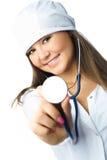 stéthoscope de docteur Photographie stock