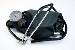 Stéthoscope de tension artérielle Image libre de droits
