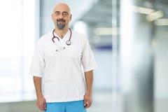 stéthoscope de verticale de docteur image stock