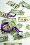 Stéthoscope médical Image stock