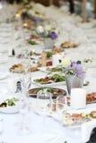 Stół dla świętować zdjęcie royalty free