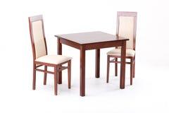 Stół i krzesła Zdjęcia Stock