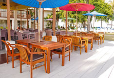 Stół i krzesła Fotografia Royalty Free