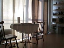Stół i krzesła Obraz Royalty Free