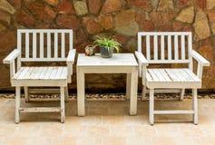 Stół i krzesło Obraz Royalty Free