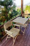 Stół i krzesło Zdjęcie Stock