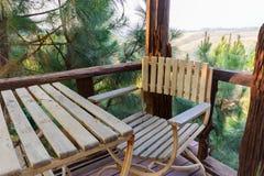 Stół i krzesło Obrazy Stock