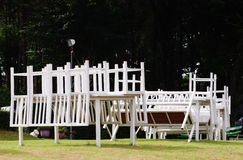 Stół i krzesło Fotografia Royalty Free