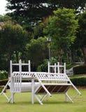 Stół i krzesło Obrazy Royalty Free