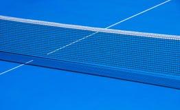 Stół i siatka dla bawić się stołowego tenisa Zdjęcia Stock