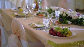 Stół przy przyjęciem zbiory