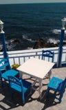 Stół przy restauracją Obraz Stock