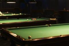 Stół dla gry w billiards Zdjęcie Royalty Free