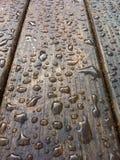 Stół mokry fotografia stock
