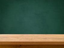 Stół na Chalkboard Zdjęcie Royalty Free