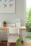 Stół w dzieciaka pokoju Zdjęcia Royalty Free