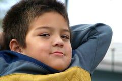 stöd barn för tillbaka pojke fotografering för bildbyråer