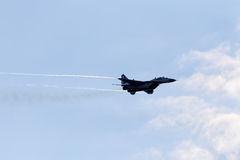 Stödjepunkt MiG-29 Arkivbild