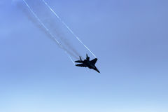 Stödjepunkt MiG-29 Royaltyfri Bild
