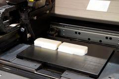 Stöpning som göras med printing 3D Royaltyfri Bild