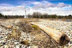 Stör-Punkt-Leuchtturm Lizenzfreies Stockbild