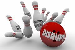Stören Sie Geschäft, wie übliche Änderung rollenden Streik verbessern stock abbildung