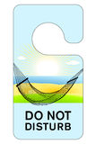Stören Sie nicht Lizenzfreie Stockbilder