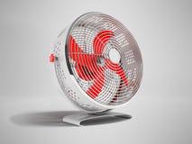 Större ventilator för modern durk för att kyla metall med loupes royaltyfri illustrationer