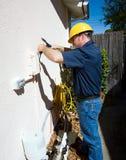 Störrischer Reparatur-Job Stockbild