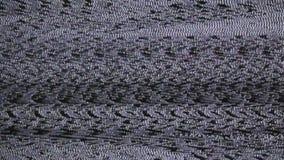 Störschub Fernsehbild stock video