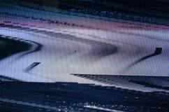 Störschub Fernsehschirm Lizenzfreies Stockfoto