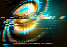 Störschubgeräusch-Verzerrungsbeschaffenheit lizenzfreie abbildung