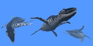 Liopleurodon Royaltyfri Foto