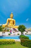 störst buddha bild Royaltyfri Fotografi