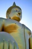 störst buddha bild Arkivfoto