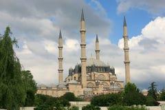 störst kalkon för edirne moskéselimiye Royaltyfria Bilder