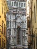 Störst kyrka för Europa ` s fjärde -, i Florence, Italien, Santa Maria del Fiore arkivfoto