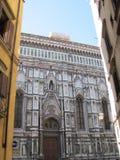 Störst kyrka för Europa ` s fjärde -, i Florence, Italien, Santa Maria del Fiore royaltyfri foto