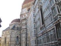 Störst kyrka för Europa ` s fjärde -, i Florence, Italien, Santa Maria del Fiore royaltyfri bild