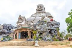 Störst Maitreya för arkitektur Buddha South East Asia Arkivbild