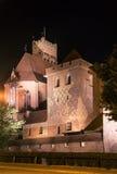 Störst slott i Europa Malbork i Polen Royaltyfria Foton