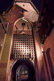 Störst slott i Europa Malbork i Polen Royaltyfri Bild